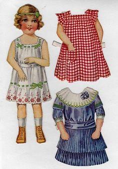 paper doll de notre enfance