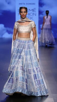 ANITA DONGRE AT LAKME FASHION WEEK - AW16 - LOOK 2
