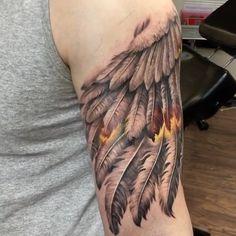 The beginning of a half sleeve #tattooinkspiration @rember_tattoos