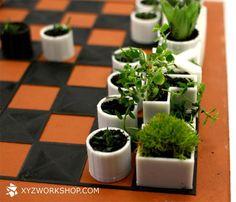 Xadrez com Plantas!