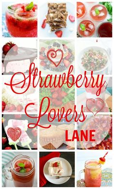 You have more reasons to love strawberry in the month of May - The Month of Strawberry. Eat To Your Heart's Content gathered some of the most delicious strawberry recipes from fabulous food bloggers around the globe. 15 splendid Strawberry recipes to satisfy your strawberry craving in this Strawberry Lovers Lane.