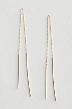Yes, Please: 24 Earrings- Pull Through Earring available at Steven Alan For #Refinery29