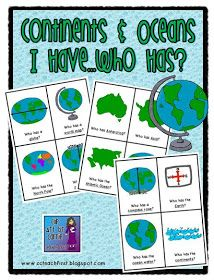Geographic Features and Landforms Clip Art Set | For kids ...