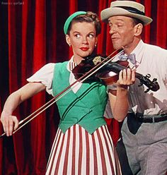 "Judy Garland and Fred Astaire in ""The Easter Parade"""