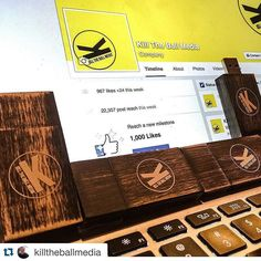 #Repost @killtheballmedia with @repostapp. #PresentationMatters ・・・ Loving the new Kill the Ball Media wooden presentation flash drives from photoflashdrive.com! Thanks to all of my clients for making it necessary and possible to upgrade to cooler gear! #gear #gratitude #marketing #photoflashdrive #photography #photographers @photoflashdrive