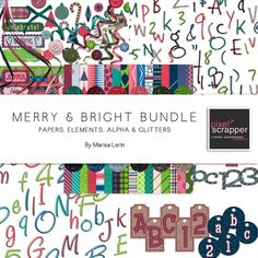 Merry & Bright  I  Pixel Scrapper Digital Scrapbooking