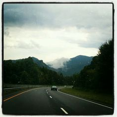 Clouds on the Great Smokey Mountains, NC
