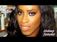 Makeup Tutorial | Burgundy Truffle Smokey Eye