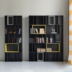 책장 - Google 검색 Bookshelf Design, Wall Shelves Design, Display Shelves, Cool Bookshelves, Bookcase, Simple Tv, Book Racks, Tv Unit Design, Office Interiors