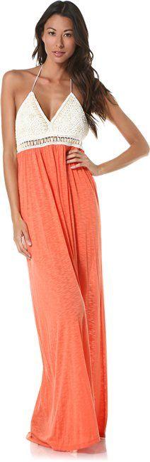 L SPACE ADRIANNA CROSSBACK MAXI DRESS  Womens  Clothing  Dresses | Swell.com