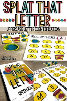 A fun and engaging game for students to build fluency with letter identification. This phonics game can be turned into a reusable workbook perfect for pre-k, kindergarten, intervention or special education. Preschool Reading Activities, Preschool Phonics, Preschool Workbooks, Phonics Lessons, Phonics Games, Preschool Letters, Letter Activities, Bee Activities, Preschool Activities