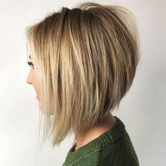 Bob Blonde Balayage Invertiert