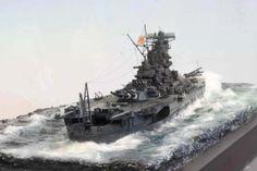 IJN Yamato 1/350 Scale Model