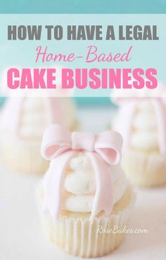 How to have a Legal Home-Based Cake Business How to have a legal home-based cake business. Hop over to Rose Bakes to find out everything I did to get my business legal and what it cost me! Related posts: Tools to Buy for Starting a Cake Business Bakery Business Plan, Baking Business, Catering Business, Business Ideas, Craft Business, Catering Menu, Catering Ideas, Business Logo, Cupcakes