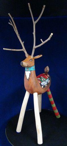 Sticks Reindeer by Sarah Grant