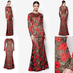 Fesyen Trend Terkini Bianco Mimosa Anaplasma Baju Kurung Moden Baju Raya 2017