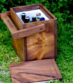 Wood cooler - so doable!