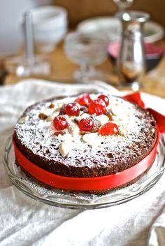 Christmas Cake, pastel de Navidad, receta inglesa con Thermomix