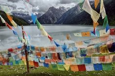 Fine Art Prints | Steve McCurry| Tibetan Prayer flags