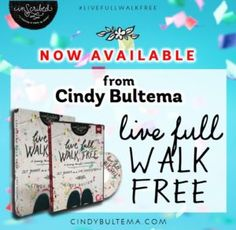 Sneak peek at Chapter 5 of Live Full Walk Free Bible study + a giveaway at Jenn Hand, Coming Alive Ministries.