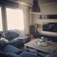 kuormalava sohvapöytänä // marrakesh // hektar // ikea // kartell // bourgie
