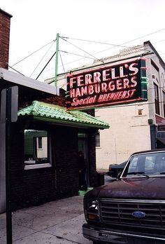 hee hee, but one of our favorites on Friday nights!!!  Ferrell's Snappy Service  Hopkinsville, Kentucky
