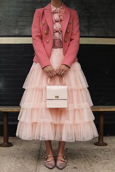 Blair discusses the tulle skirts that are in her upcoming Atlantic-Pacific x Halogen collection - available exclusively at Nordstrom on October Pink Outfits, Skirt Outfits, Nordstrom, Look Fashion, Fashion Outfits, Womens Fashion, Tulle Skirt Dress, Tulle Skirts, Pink Skirts