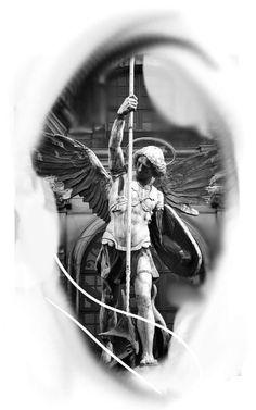 Tatuagem estátua