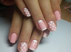 51 stunning trendy manicure ideas e. Conception of short acrylic nails 34 … Ombre French Nails, Glitter French Manicure, French Nail Art, No Chip Manicure, Gel Manicure At Home, Mani Pedi, Hot Nail Designs, French Manicure Designs, Christmas Manicure
