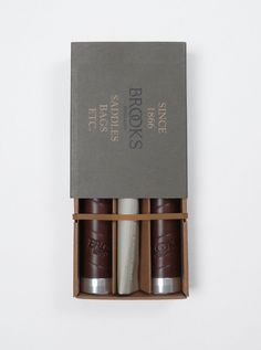 Brooks leather grips