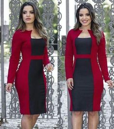 Definitely something Lavinia would wear. Cute Dress Outfits, Classy Work Outfits, Classy Dress, Cute Dresses, Work Dresses For Women, Simple Dresses, Plus Size Dresses, Business Dresses, African Dress