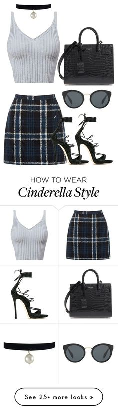 """Untitled #1145"" by directionermixer01 on Polyvore featuring Oasis, Dsquared2, Prada and Yves Saint Laurent"