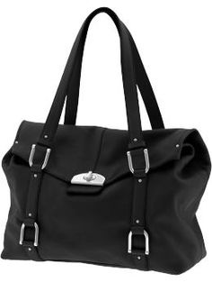 Banana Republic Madison Leather satchel in black.  But, I also like it in camel too.  $250