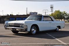 1962 Lincoln Continental 4 Door Convertible