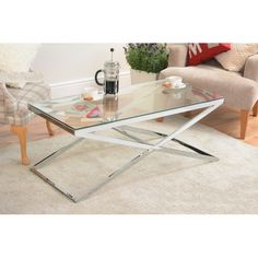 STOLIK INSPIROWANY EICHHOLTZ COFFE TABLE CRISS CROSS