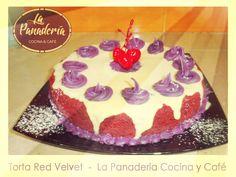 ㋡ Torta Red Velvet - La Panadería Cocina y Café #Villadeleyva ㋡