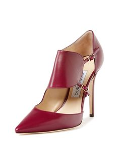 Houry Leather Pointed-Toe Pump by Jimmy Choo at Gilt.com ***Join the member's only Sample Sale here: http://www.gilt.com/invite/n8vpride28