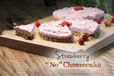When I first adopted a totally plant-based diet, some 21 years ago, things like cheesecake went completely fell by the wayside. Vegan recipes hadn't yet taken the world by storm and in those earlie…