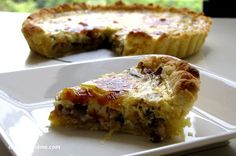 Learn how to make an easy quiche with mushrooms and onions. This is a vegetarian quiche recipe that uses eggs. I am really not sure why I have never made quiche before. It's quite fail-proof and lends itself so well to customisations. While eggless quiche recipes are really popular all over the Internet now, I...Read More »