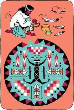 CLÉS Traditional medecines on Illustration Served