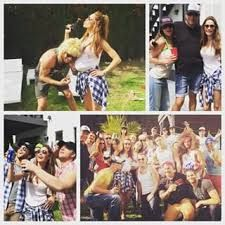 Image result for white trash costume for party                                                                                                                                                     More
