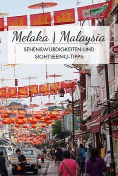 Melaka in Malaysia wird auch liebevoll Malacca genannt. Du findest in diesem Beitrag die besten Tipps, Sehenswürdigkeiten und Empfehlungen für Restaurants und Hotels.  Jonker walk Melaka, Melaka Heritage Site, Street Art und Cafes