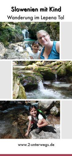 Slowenien ist ein tolles Reiseland für Kinder. Im Lepena Tal kann man eine kurze Wanderung machen, die an einer Vielzahl an Wasserfällen und wunderschönem kristallklarem Wasser vorbeiführt. Zum Baden leider etwas kalt, aber ein toller Tagesausflug!