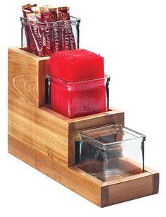 Item: 3612-4-99 Madera Stair-Step Jar Display