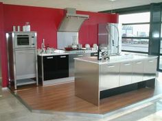 ikea keuken rood grijs - Google Search
