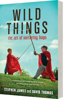 Wild Things : The Art of Nurturing Boys by Stephen James and David Thomas