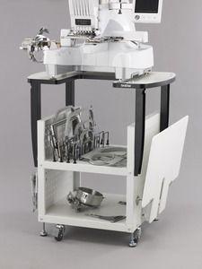 Brother, PRNSTD, Roller Stand, PR & Babylock,  10 Needle, Machines, Brother PRNSTD Stand for PR1000E Babylock 10 Needle Machines