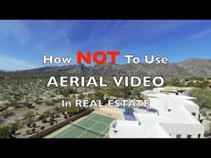 Real Estate Video: How NOT To Use Aerial Video In Real Estate - http://bestdronestobuy.com/real-estate-video-how-not-to-use-aerial-video-in-real-estate/