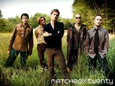 Matchbox Twenty - I love how unique Rob Thomas' voice is. He is great alone or with his band. Matchbox Twenty, I Love Music, Music Is Life, Amazing Music, Great Bands, Cool Bands, Rob Thomas, Thomas Brodie, Group Poses