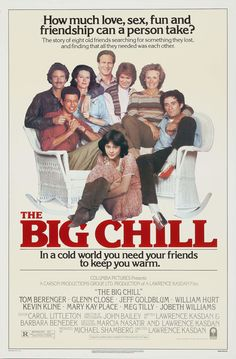 Reencuentro (The Big Chill), de Lawrence Kasdan, 1983